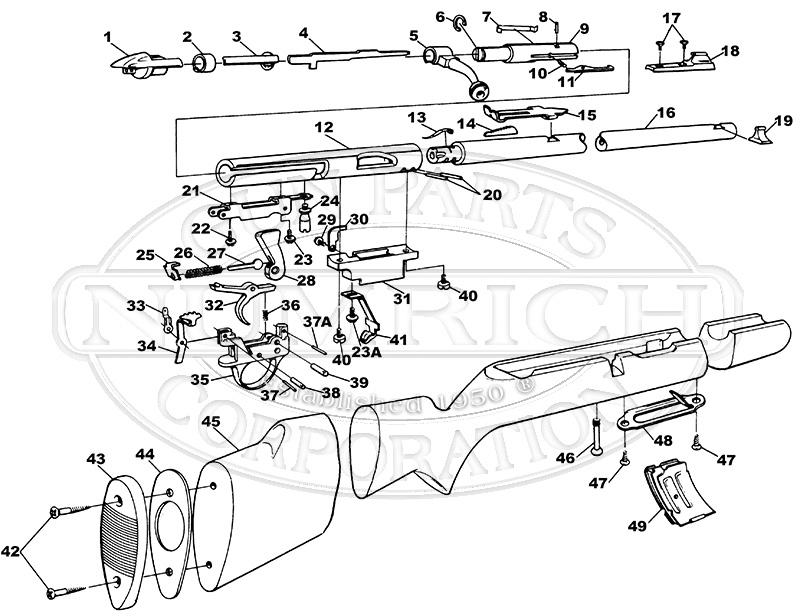 Sears Rifles 101.538840 gun schematic