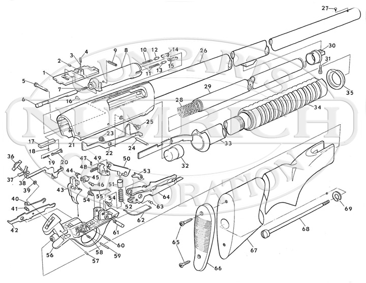 34 Stevens Model 320 Parts Diagram