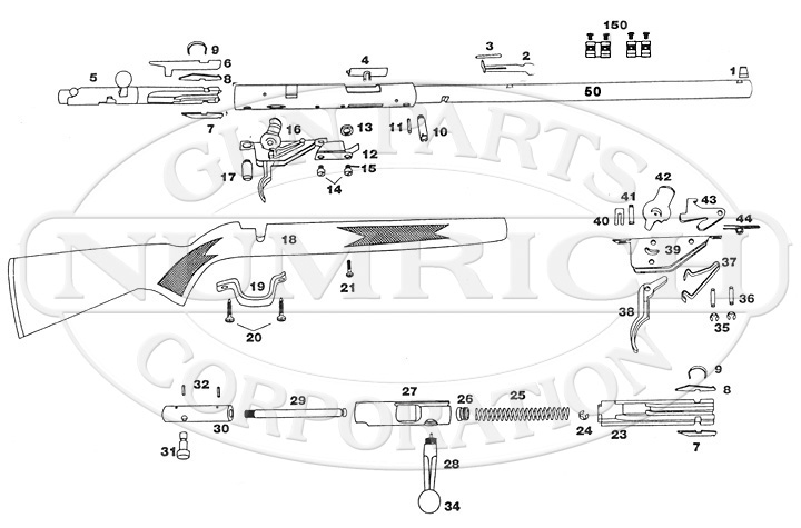 Lakefield Mark I gun schematic