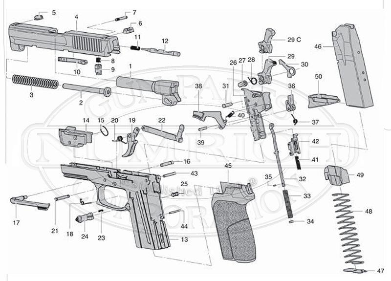 sig sauer sp2022 parts