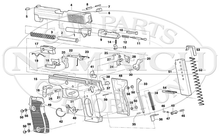p239 exploded diagram