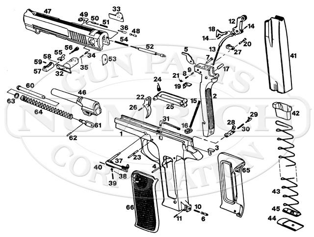 Star 30PK gun schematic