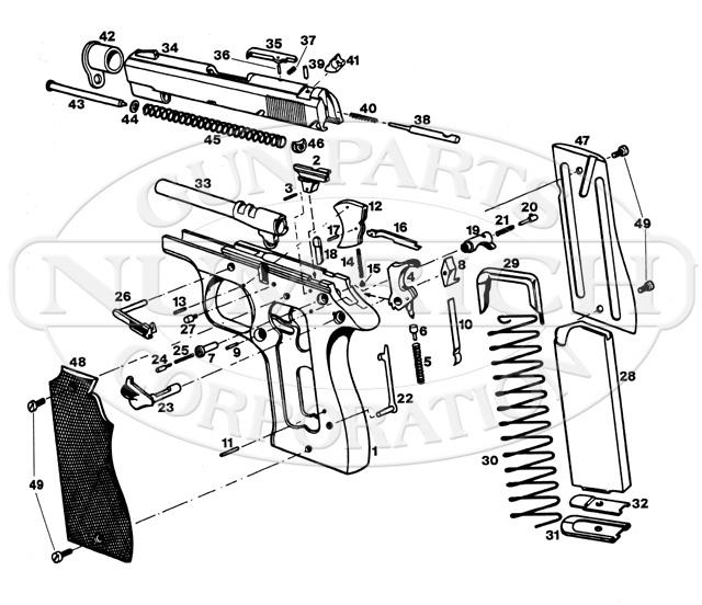 Star BKS Starlight gun schematic
