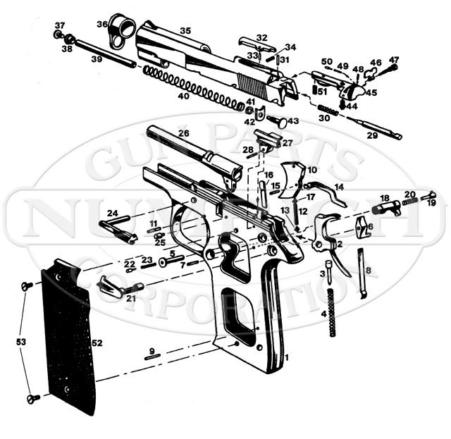 Star PD Auto gun schematic