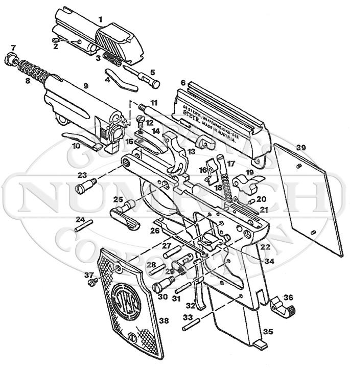 Steyr 1908 Auto Parts, Accessories | Numrich
