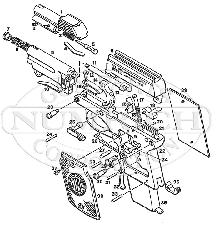1908 Auto Schematic