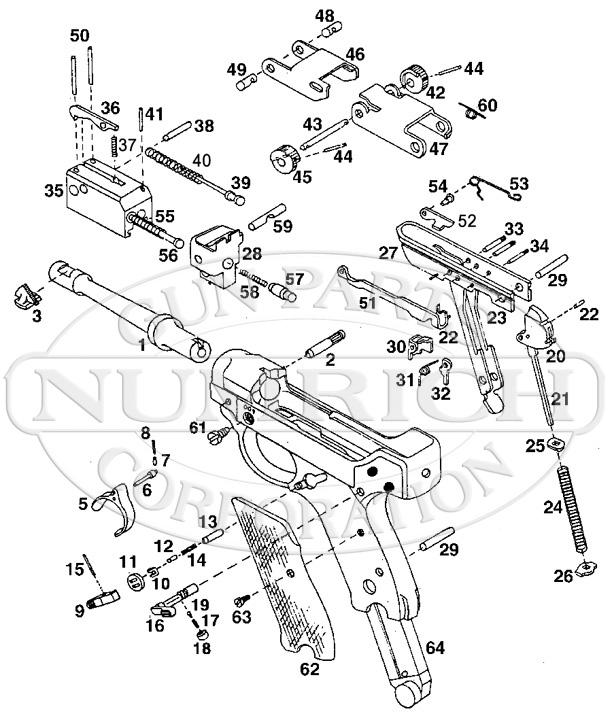 Stoeger Semi-Auto Pistols Luger gun schematic