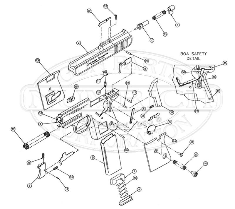 Sundance BOA gun schematic