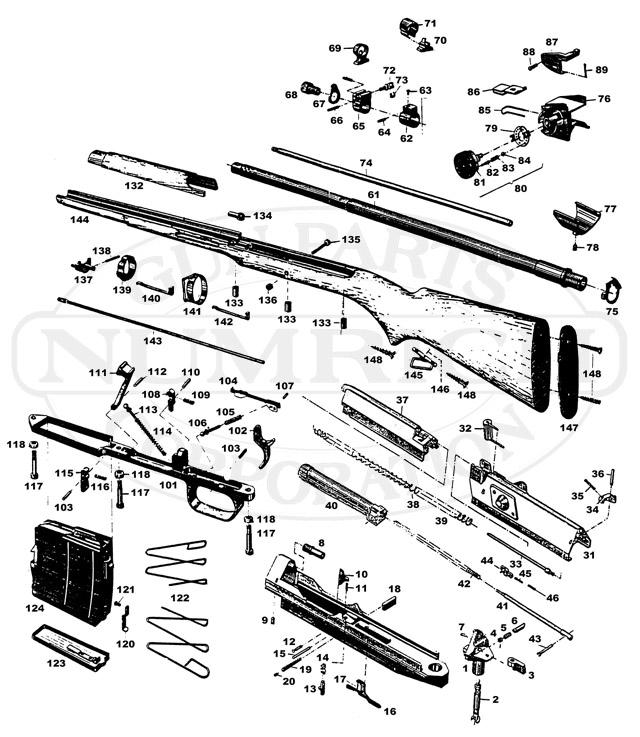 Ljungman Ljungman AG42 gun schematic