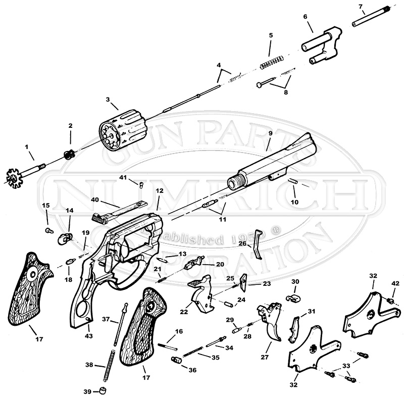Taurus Parts Diagram