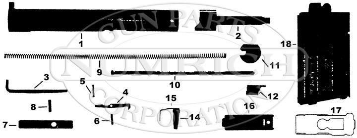 Atchisson AR15/M16 Conversion Kit gun schematic