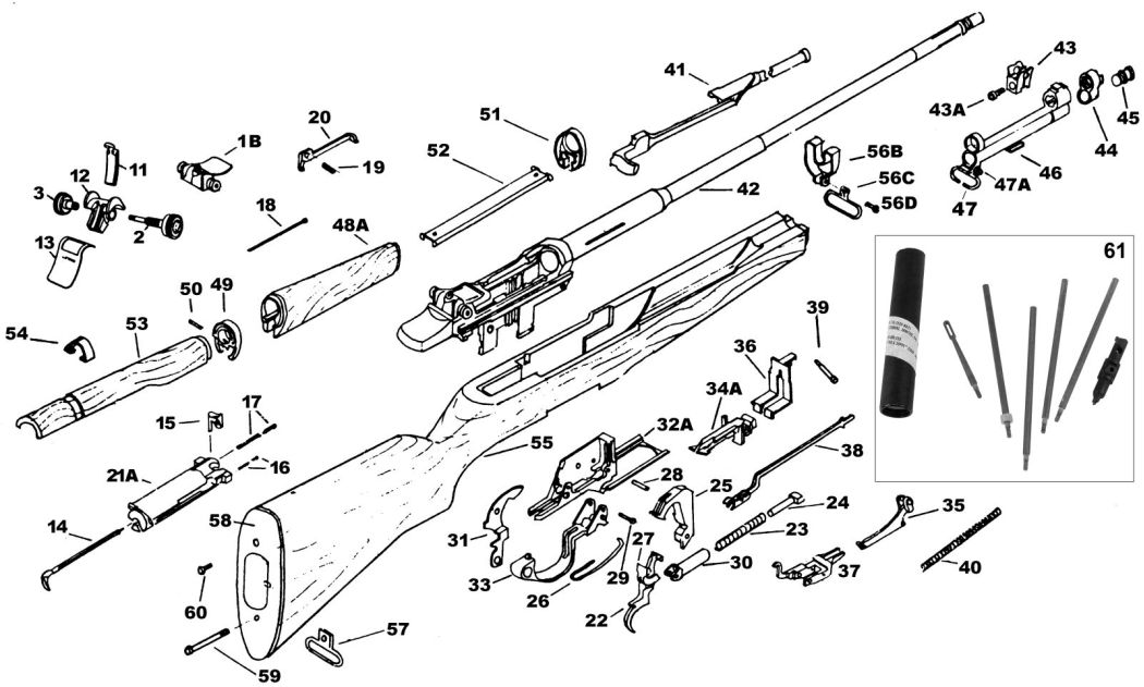 m1 garand receiver schematic
