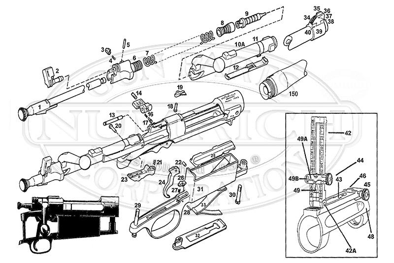 1903 springfield parts list