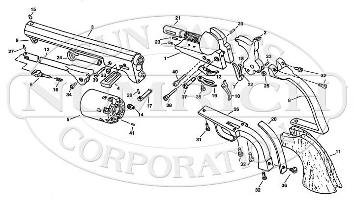 Uberti 1851 Navy Parts for Sale | Gun Parts Corp