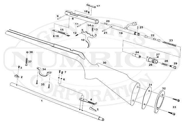 Ultra Hi Products 2200 gun schematic