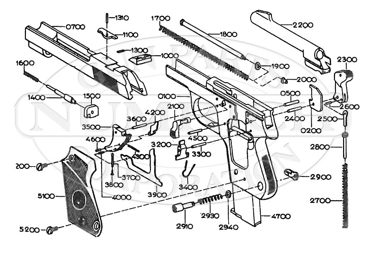 Unique L gun schematic