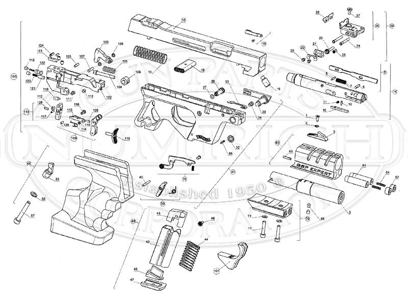 gsp expert accessories | numrich gun parts pump parts diagram #13