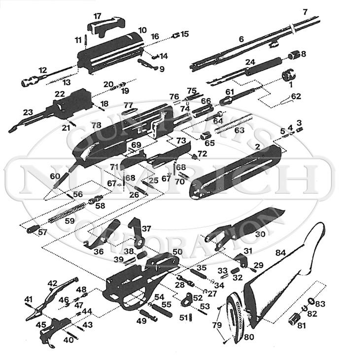 Weatherby Centurion gun schematic