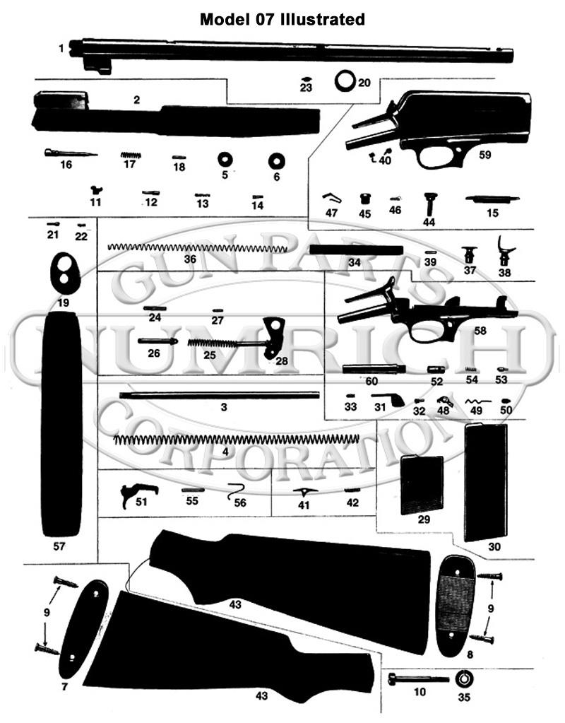 Winchester Rifles 10 gun schematic