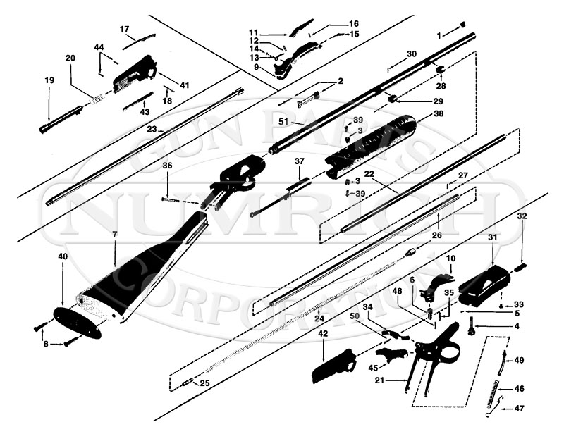 How to disassemble the winchester pump 1890 1906 62 rifle.
