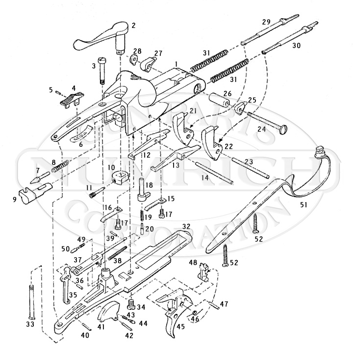 engine winchester model 94ae schematic