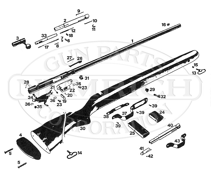 Winchester Model 310 Parts