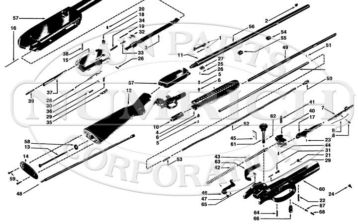Winchester Rifles 61 gun schematic