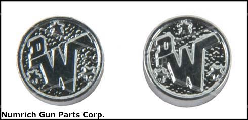 Dan Wesson Grip Medallion Set
