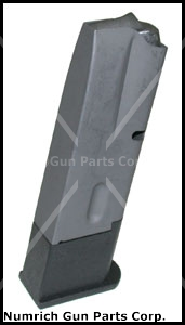 Magazine, 9mm, 10 Round, Parkerized Steel w/ Polymer Base, New Factory Original