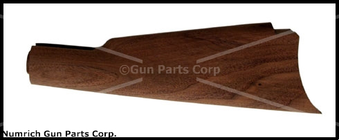 Stock, Semi-Finished, Straight Grip, New Repro, Cut For Crescent Style Buttplate