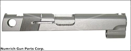 Slide, .40 S&W, Stripped, Novak Low Carry