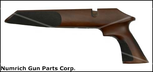 Stock, .22 LR, Pistol, Walnut Silhouette - Repeater 64 Action, Model P Unlimited