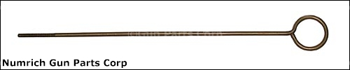 Cleaning Rod, Brass - Original Swedish Surplus, 4.0 x 0.8 Metric Threaded End.