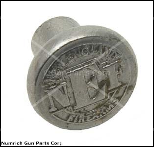 Grip Medallion, Silver NEF, Used Factory Original