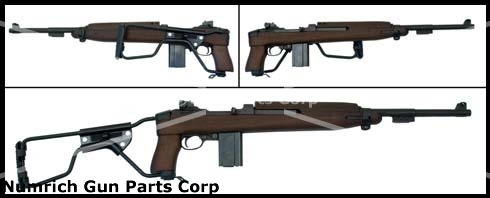 Paratrooper Folding Stock Assembly, New Manufacture