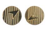 Arrowhead Grip Medallion Set