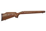 Stock, Hvy Barrel, .22LR, Brown Laminated w/Grip Cap, Rifle Pad & QD Swivel Stud