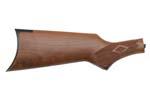 Stock, Pistol Grip, Wlnt, Diamond Cut-Chkrd, Steel Saddle Ring BP, Original