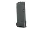 Magazine, .40 S&W, 9 Round + 1 Extension (10 Rd Total), Polymer, New (Factory)