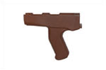 Pistol Grip, Front, Red, New Reproduction