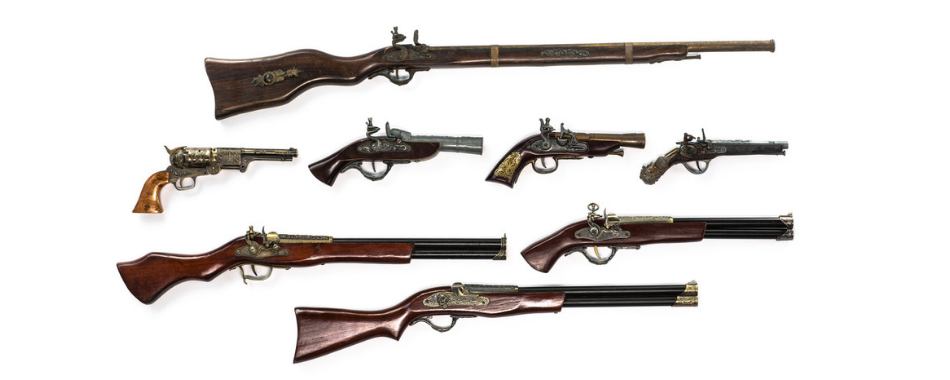 How to Find the Value of Antique Firearms
