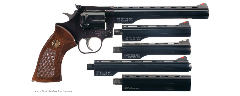 Dan Wesson Revolvers with Interchangeable Barrels
