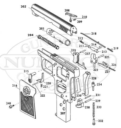 Ruby - Also Spanish Semi-Auto Pistols in Mfr List