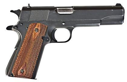 Colt M1911 – The U S  Military Transition to Semi-Automatic