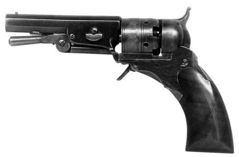 Colt Pocket Patterson Black Powder Revolver