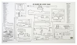 Layout Chart Poster, B/W, 32