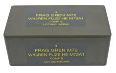 Grenade Storage Case, Mecar M72 Frag