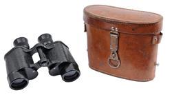 Binocular & Case, Czech Army D6 6x30 Range Finding