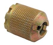 "Blank Firing Device, Style 4, .795"" OD, Coarse Knurling, Slotted Top, 8 Notch"