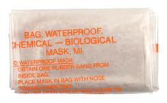 M17, M17A1 Gas Mask Bag, Waterproof
